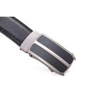 belts for men AF-226 Mens black leather belts with automatic buckle