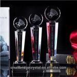 3D Laser wholesale k9 crystal award and trophy for sport gift