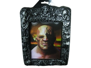 China Halloween Ornaments Halloween plastic 3D photoframe on sale