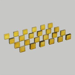 China Yellow HPHT synthetic diamond plate on sale