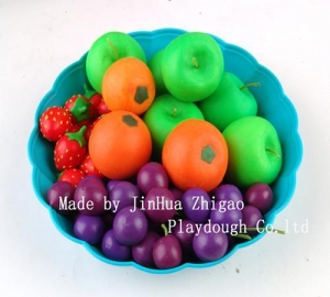 China play dough tools Modeling clay-fruit on sale