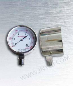 China Stainless steel capsule pressure gauge on sale