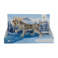 8-inch saber-toothed tiger/X117