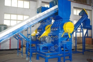 China HDPE/LDPE Bottle Washing And Recycling Production Line on sale