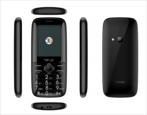 China Black 3G Bar Phone on sale