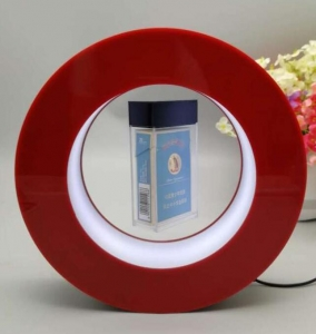 China customize magnetic floating pop cigarette display rack on sale