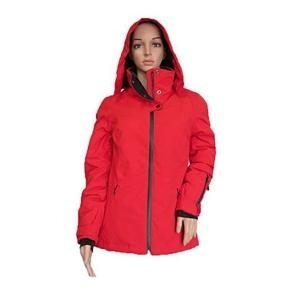 China Polyester Women Winter Jacket With Hood on sale