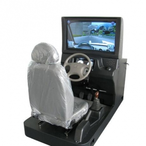 China 32 inches Car driving simulator on sale