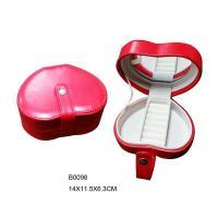 China JEWELRY BOX Heart shape jewelry box on sale
