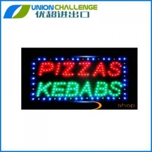 China High standard open letter neon led sign with cheap price on sale