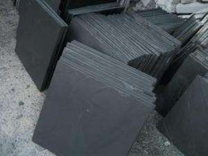 China Slate&Cultural stone black slate stone on sale
