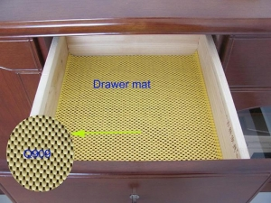 China Drawer and shelf liner drawer mat on sale