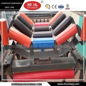China Carrier Trough Steel Idler Roller For Belt Conveyor China Machine Manufacturer on sale