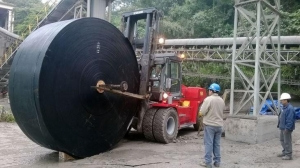 China Conveyor Belts Nn Ep Wear Resistant Rubber Conveyor Belting for Copper Ore on sale