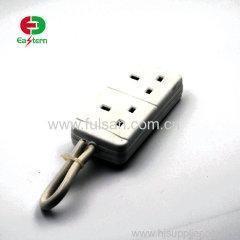 China UK extension socket extension lead 2 meter electrical socket 6 Outlets Universal Power Strip on sale