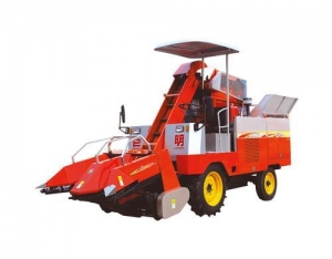 China 4YZP-2 self-propelled Corn Combine harvester on sale