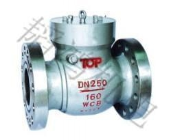 China Check valve H76X / Wcast steel wafer butterfly type check valve on sale