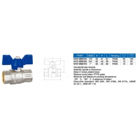 W101 12 Ball valve