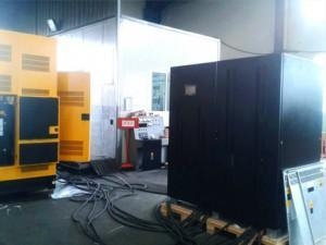 China UPS Prostar 400KVA Online UPS Applied to Machinery Manufacturing Company on sale