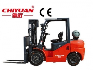 China CPC-30GL Dual fuel forklift on sale