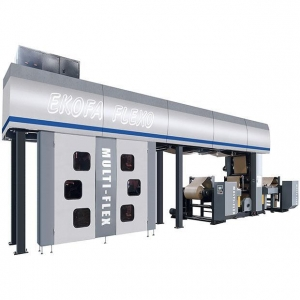 China English Central Drum (CI) Type Flexographic Printing Machine on sale