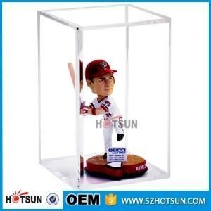 China action figures acrylic display case hotsun company display on sale