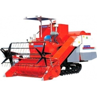 Jinma Tractor 4LZ-2.0 self-propelled full-feeding combine harvesters with rubber tracks