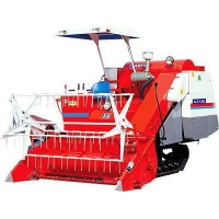 Jinma Tractor 4LZ-1.28 self-propelled full-feeding combine harvesters with rubber tracks