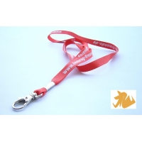 Silk screen print lanyard 52