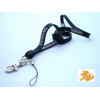 Silk screen print lanyard 50