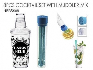 China BAR ACCESSORY 8PCS COCKTAIL SET WITH MUDDLER MIX on sale