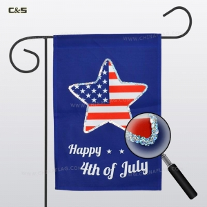 China Flag & Banner American Independence Day Garden Flag on sale