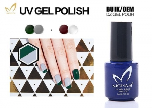 China No Shrinkage Gel Uv Nail Polish , Healthiest Organic Gel Nail Polish Blue Color on sale