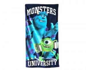 China Monster printed beach towel on sale