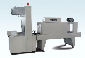 China Semi-Automatic Sleeve Wrapper And Pe Shrink Tunnel on sale