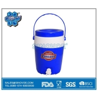 China BL0655-2 5.7L plastic water cooler jug with handle and tap on sale