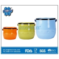 BL2513 3 Pcs Set Food Storage&Bin Container Stainless Steel Hot Pot