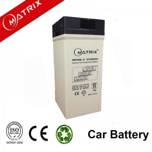 China 2 volt Lead Acid Battery 300ah With Ce Iso Msds Approval on sale