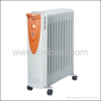 Portable Electric Office Oil Filled Radiator Heater BO-1008