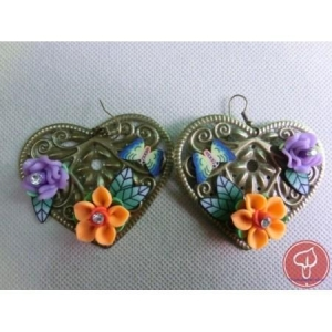 China Polymer Clay Earrings on sale