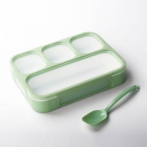 China 4 Compartment Lunch Box Leak Proof on sale