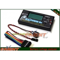 KDS 450 RC Helicopter LiPo/LiFe Battery Voltage Checker /Analyser with Alarm