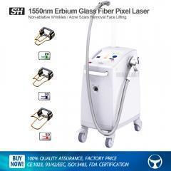 China Medical Aesthetic 1550nm Erbium Glass Fiber Pixel Laser on sale