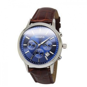 China OEM Stainless Steel Multifunction Wrist Watch For Men , Water Resistant Watch Logo Customized on sale