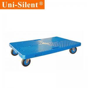 China Uni-Silent 100kgs Portable Plastic Interlocking Dolly Moving Dolly PLA100Y-DL-B on sale