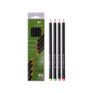 China Black lead pencil 706Black lead pencil with rubber tip in 4… on sale
