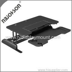 China Aluminum LCD TV Desk Mount Bracket for Six Monitors on sale