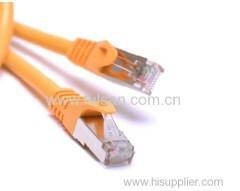 China High frequency SSTP CAT6a Networking Cable/Pass Fluke Test on sale