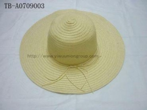 China Straw Hat Wide Brim Cap Summer Beach Spring Lady on sale