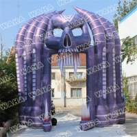 Colorful Lighting Yard Decorations Events Decoration Led Light Inflatable Halloween